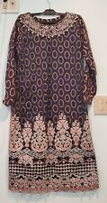 Pakistani designer salwar kameez stitched