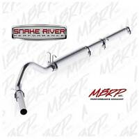 "MBRP 4"" EXHAUST 1999-2004 FORD F250 F350 V10 GAS CAT BACK NO TIP S5206P"