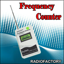 GOOIT gy560 Frequency Counter + fd-150a Earpiece