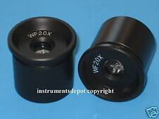 New! a pair of WF20X eyepiece Zeiss Leica Olympus Nikon