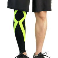 New Calf Leg Running Compression Sleeve Socks Shin Splint Support Brace Sport