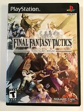 Final Fantasy Tactics - Playstation - Replacement Case - No Game