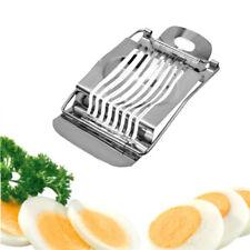 Stainless Steel Egg Slicer Boiled Cutter Kitchen Mushroom Chopper Fruit Wire AU