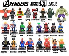 24 minifigures Super Heroes New Ship from USA Compatible with most brands