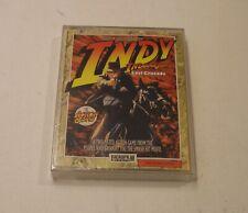 RARE 2 Indiana Jones' Games: Temple of Doom / Last Crusade for Commodore 64, NEW
