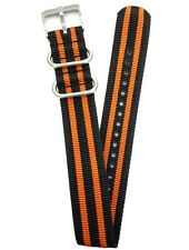 Luminox Original Nato Strap Nylon Orange Twin 23mm FN3950.36Q