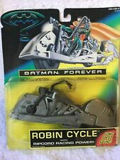 DC Batman Forever Robin Cycle Series Kenner Mint on Card USA Edit