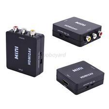 Portable Adapter HDMI 1.3 Standard Female To RCA Audio Video AV CVBS Adapter Hot