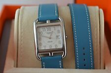 AUTH Hermes CAPE COD GM Auto CC1.710 Double Tour Watch