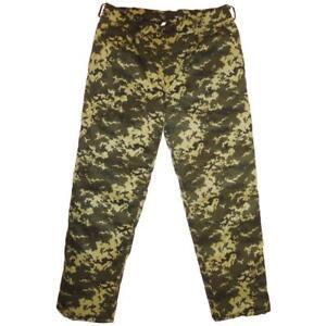 Winter Military Army Green Digital Camo Trousers Pants Uniform 3XL / 56 (EU)