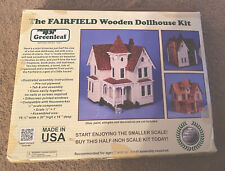 Greenleaf The Fairfield Wooden Dollhouse Assembly Kit #8015 1983 Open Box New