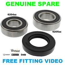 INDESIT Genuine Washing Machine Drum Bearing Kit 6204Z & 6205Z C00251855