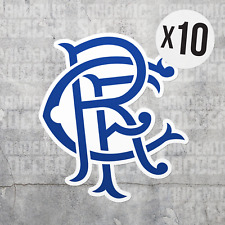 (10) Rangers FC Scotland Vinyl Sticker Decal Premiership Football Glasgow