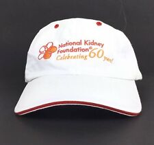 National Kidney Foundation - 60 Years Embroidered Baseball Cap Hat Adj Adult