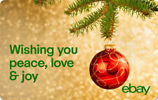 Peace, Love & Joy - eBay Digital Gift Card - $25 to $200 - Email Delivery