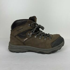 VASQUE St. Elias UltraDry Hiking Boots Youth 5 High Top Leather