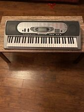 CTK-573 Casio Keyboard with AC Adapter. Works