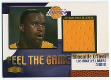 1999-00 Flair Showcase Feel the Game Shaquille O'Neal GU Los Angeles Lakers