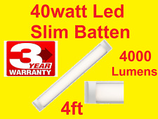 FLUORO Replacement 40W LED LIGHT ULTRA SLIM PROFILE 5500k 1200mm Batten Bright