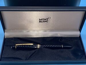 Authentic Montblanc Meisterstuck Le Grand Rollerball Pen GERMANY With Box Serial