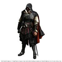 Assassin's Creed II Play Arts Kai Ezio Auditore Da Firenze Figure NEW from Japan