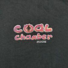 New Coal Chamber Dark Days Metal Band Album Cover Men/'s Black T-Shirt Size S-3XL