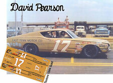 CD_2677 #17 David Pearson  1968 Ford Torino   1:64 scale decals