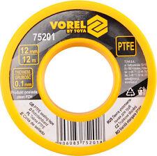 Teflonband Gewindedichtband 12 Meter PTFE 12 mm Dichtband 75201