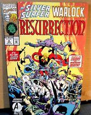 Silver-Surfer and Warlock 2 VF condiiton  'RESURRECTION'