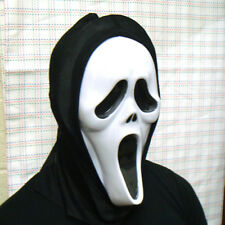 SCREAM STYLE ROBE, MASK, GLOVES & KNIFE, FULL COSTUME HALLOWEEN FANCY DRESS