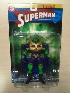 DC Direct Superman Series 1 Brainiac 13 Action Figure 2003 MOC Sealed