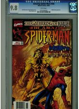 AMAZING SPIDER MAN #440 CGC 9.8 MINT WHITE PAGES 1998 MOLTEN MAN APPEARANCE BLUE