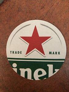 10 x Heineken Beer Mats - Home Bar / Home Pub Man Cave Beer Coaster Drip Dry Pub