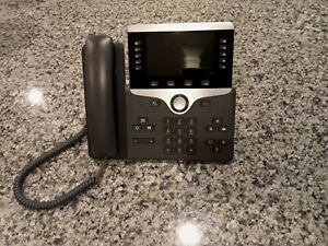 Cisco CP-8851 IP Phone with Firmware - Charcoal FedEx overnight delivery