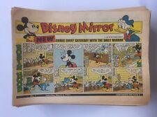Disney Mirror Sunday Paper Comic Lot