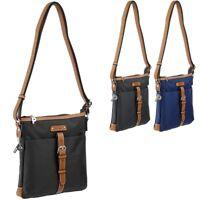 PICARD Damen Handtasche (klein,flach,leicht,weich) Tasche Stoff Schultertasche