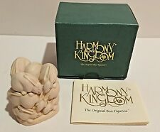 Harmony Kingdom Bunny Rabbits At The Hop Trinket Box 1995 Small Treasure Jest