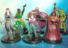 Dungeons & Dragons Miniatures Lot  Wizard Mage Magic User !!  s108