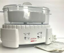 Sunbeam Instant Steam Automatic Food & Veggie Steamer Rice Cooker 4710 Clean