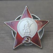 1 Pcs Vintage Antique URSS Emblem NKVD KGB Soviet Russian Badge Medal 20g