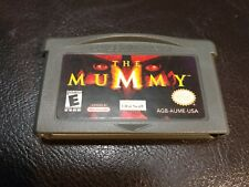 Nintendo Game Boy Advance SP The Mummy Video Game Cartridge Only ~ GBA