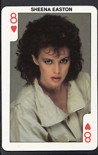 Dandy Gum Card - Rock'n Bubblegum Card - Pop Star - Sheena Easton