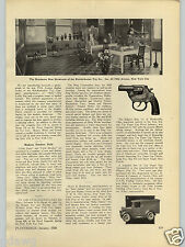 1928 PAPER AD Article Kilgore Cast Iron Toys Cap Gun Truck Thorens Swiss Lighter