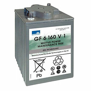 Exide Sonnenschein GEL-Batterie Dryfit Traction Block GF 06 160 V1
