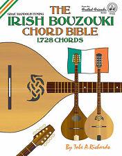IRISH BOUZOUKI CHORD BIBLE - 1,728 CHORDS (NEW 2016 EDITION) - GDAE TUNING