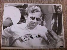 Tony Brooks Vanwall F1 Portrait Signed **Large 16 x 12**