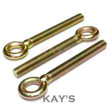 FORGED EYE BOLTS THREADED RINGS M6 M8 M10 M12 RESIN CATENARY WIRE HANGING SCREWS