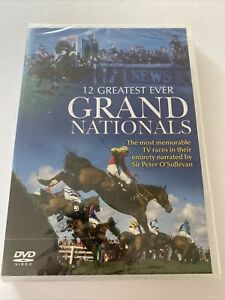 12 Greatest Grand Nationals DVD Horse Racing Brand New