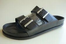 "BIRKENSTOCK Leather Sandals ARIZONA ""AVANTGARDE EXQ"" black US13.5 EU46 UK12 Reg."