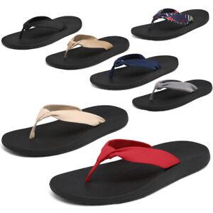 DREAM PAIRS Women's Arch Support Flip Flops Summer Beach Thong Sandals 5-11 Shoe
